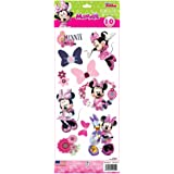 Stickers Disney Minnie Mouse Roommates Repositionnables (10 Stickers) - Enfant - Style : Enfant