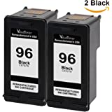 Valuetoner Remanufactured Ink Cartridge Replacement For 96 C9348FN C8767WN (2 Black) 2 Pack