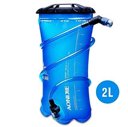 Bolsa de Almacenamiento de Agua de Vejiga de Hidratación Portátil de Gran Capacidad 2.5L para Ciclismo de Viaje de Deportes Al Aire Libre Dioche Acampada y senderismo Vejiga del Agua Bolsas de agua