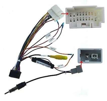 amazon com joying jy c hfit wiring harness cable for honda fit crv rh amazon com  2007 honda fit wiring harness