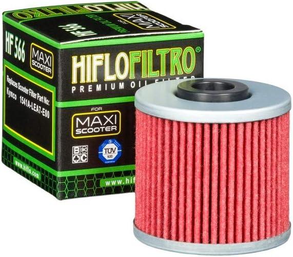 HIFLOFILTRO Compatible avec 125-300 Down TOWN Dink STREET-SUPER Dink J125 J300 FILTRE A HUILE HF566