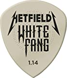 JIM DUNLOP White Fang 1.14mm Guitar Picks (PH122P1.14)
