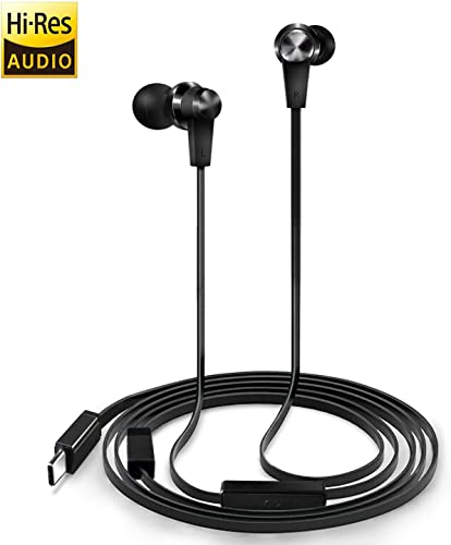 USB Type C Earbuds With Hi-Res