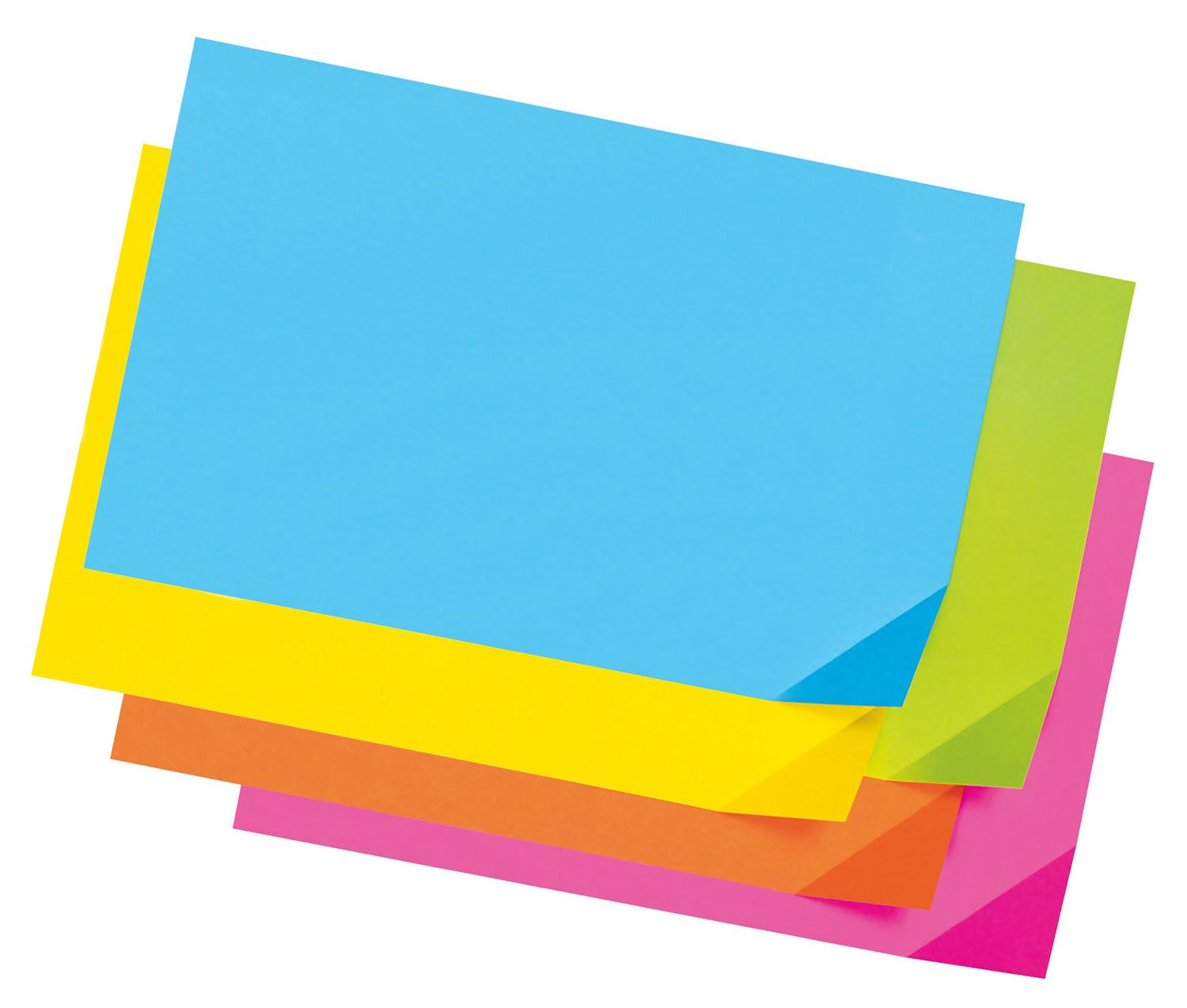 1712 100 Sheets Assorted Colors Pacon Colorwave Super Bright Tagboard 12 x 18 Inches