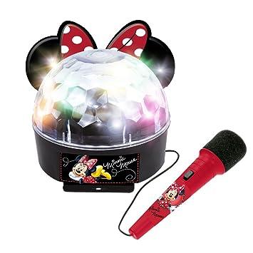 Minnie and You 5264 Ladybug Discokugel mit Mikrofon und