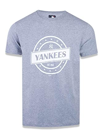 6e030d0ea2102 CAMISETA NEW YORK YANKEES MLB NEW ERA  Amazon.com.br  Amazon Moda