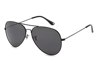 PERXEUS EARHART - Gafas de Sol aviador para hombre y mujer. Ligeras y Resistentes - Protección UV400. [Lentes Polarizadas]