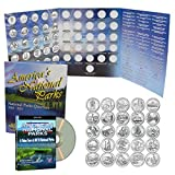 2010-2015 National Park Quarters Complete Date Set, First 30 America the Beautiful Coins with Deluxe Color Folder and Free DVD