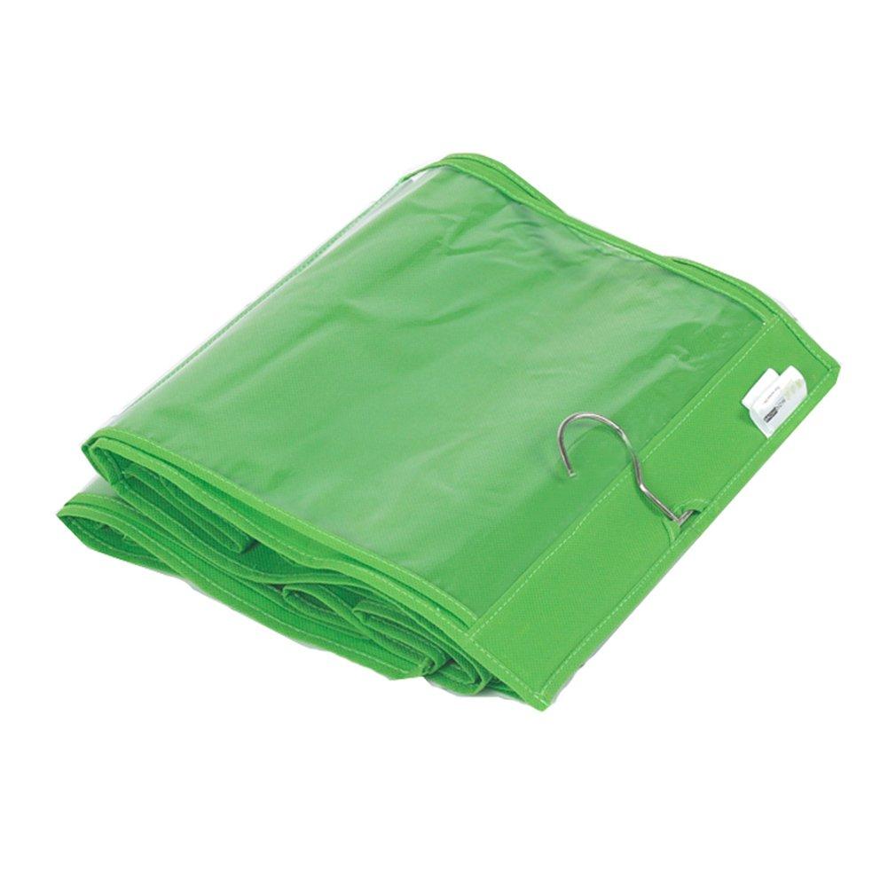 6 bolsillos grandes SANDIN Organizador de bolsos para colgar transparente