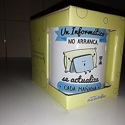 La Mente es Maravillosa - Taza frase y dibujo divertido (Una ...
