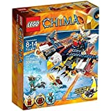 LEGO - A1404137 - Planeur Aigle Feu D'eris - Chima