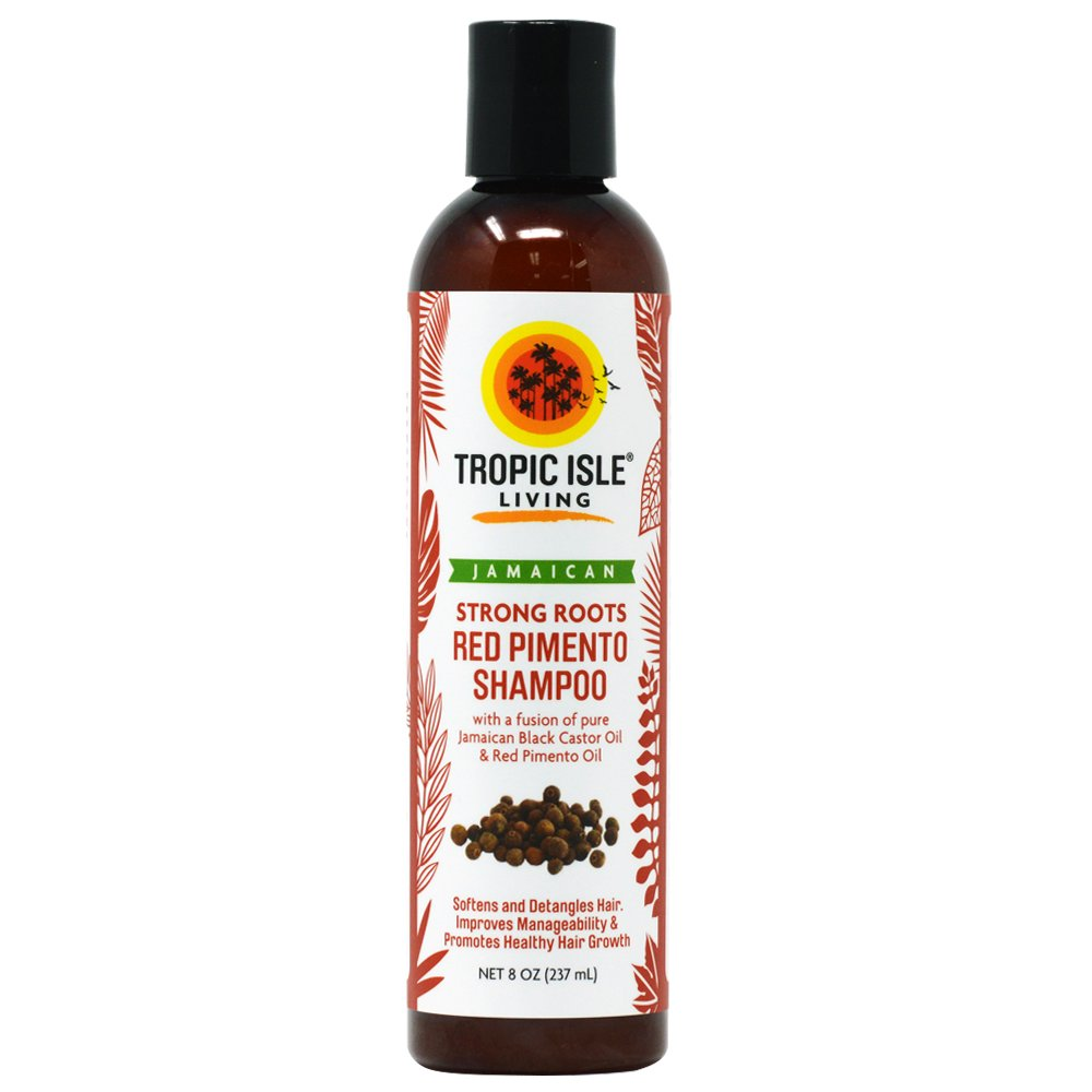 Tropic Isle Living Strong Roots Shampoo with Red Pimento