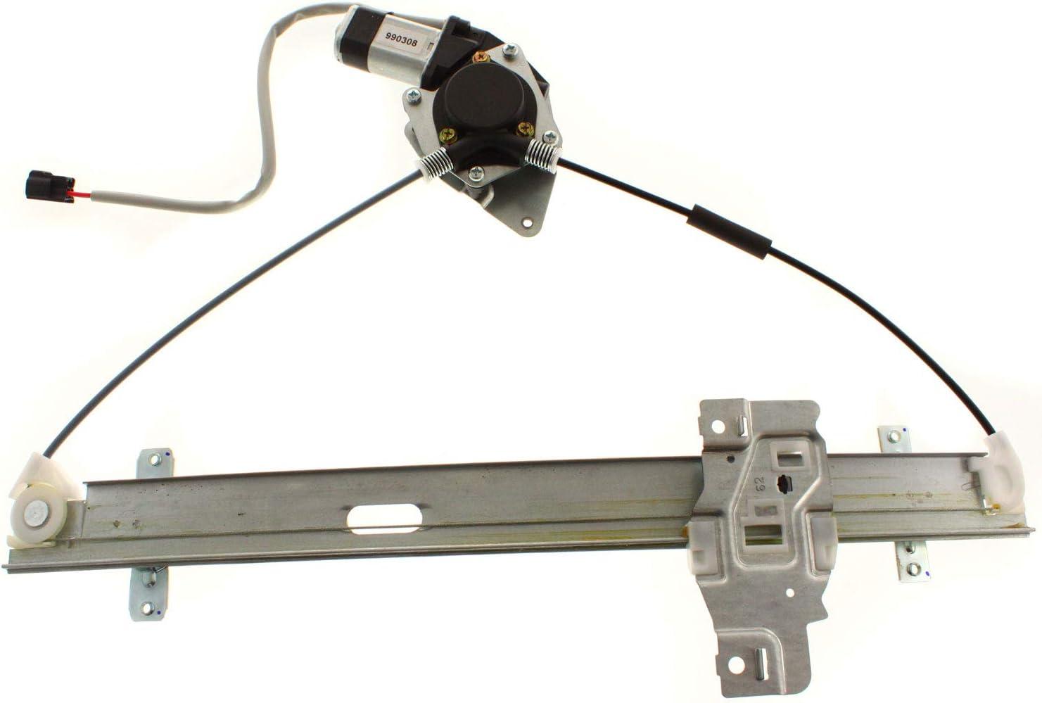 Passenger Side With Motor Power Window Regulator For 98-2004 Isuzu Rodeo Rear