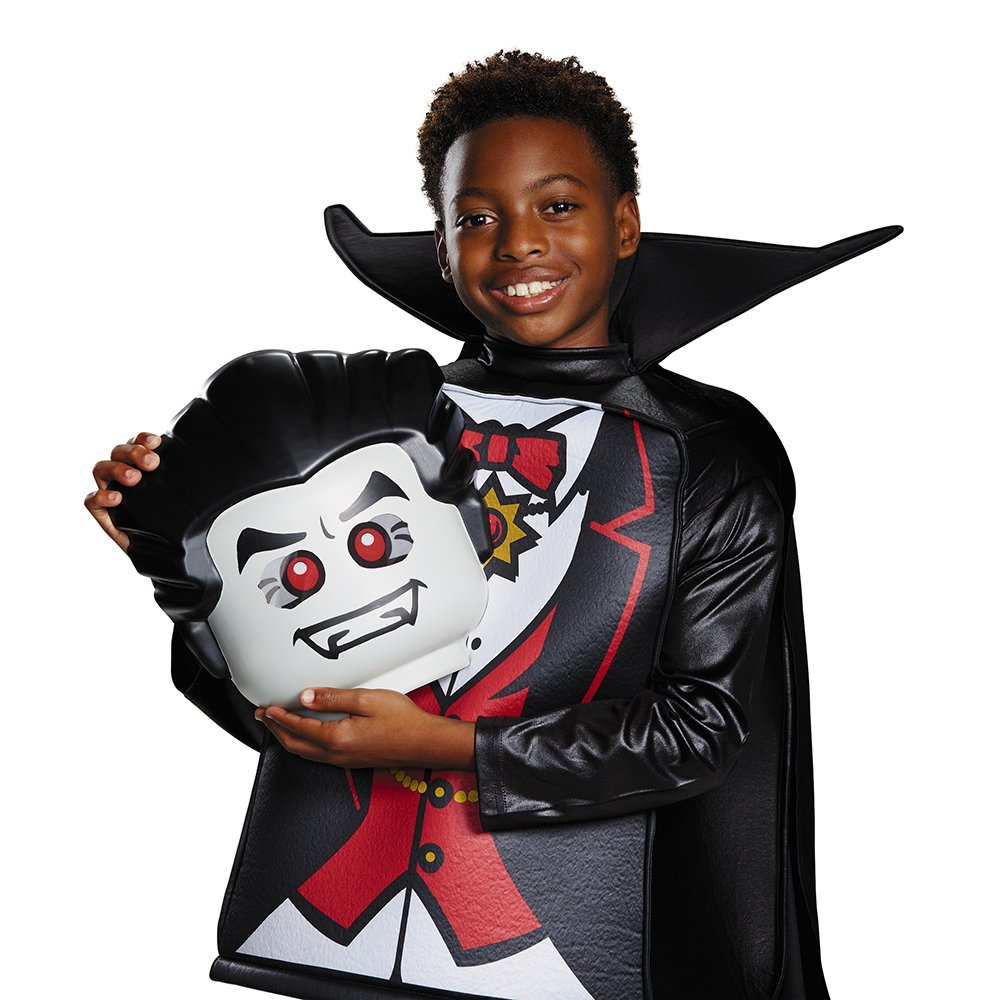 7-8 Toys Division 18247K Black Medium Disguise Costumes Disguise Lego Vampire Deluxe Costume
