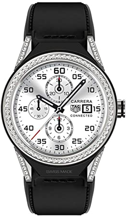 Amazon.com  TAG Heuer Connected Modular 45 Diamond Smartwatch ... a1794dcb72
