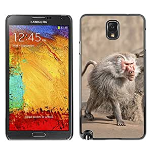 Super Stella Slim PC Hard Case Cover Skin Armor Shell Protection // M00145538 Baboon Monkey Zoo Animal Primate // Samsung Galaxy Note 3 III N9000 N9002 N9005