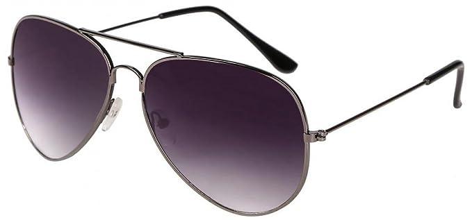 1 opinioni per WODISON Vintage Aviator Occhiali da sole riflettente lente a specchio