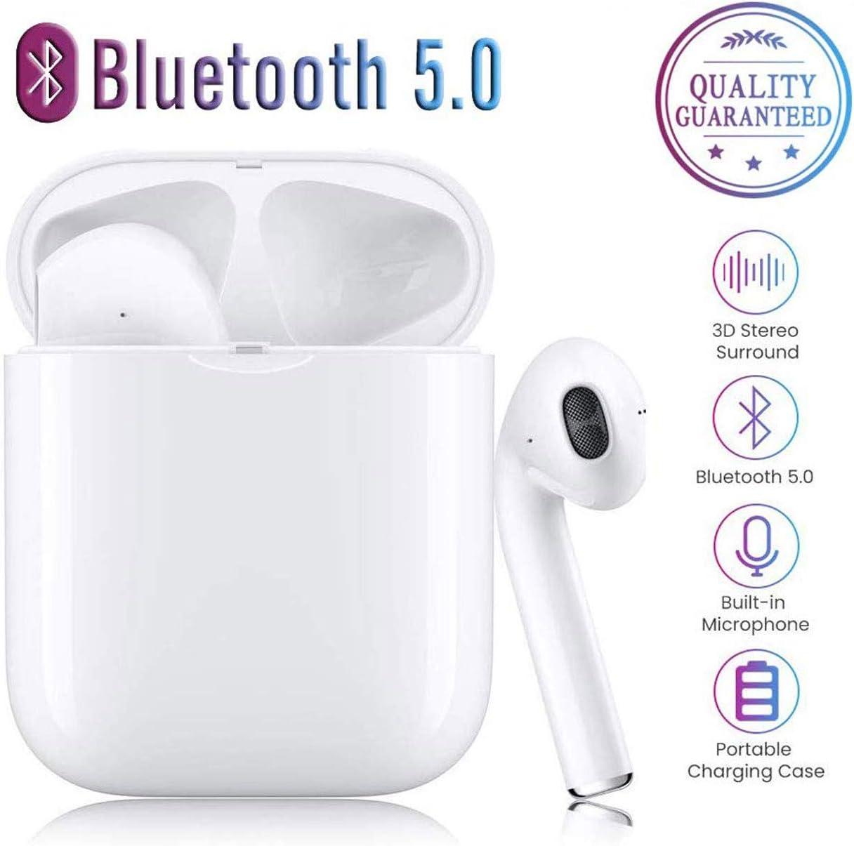 Bluetooth Headphones5.0 Wireless Earbuds 3D StereoWireless Headphones Bluetooth 5.0,3D Stereo Wireless Sports Headset for Smartphones