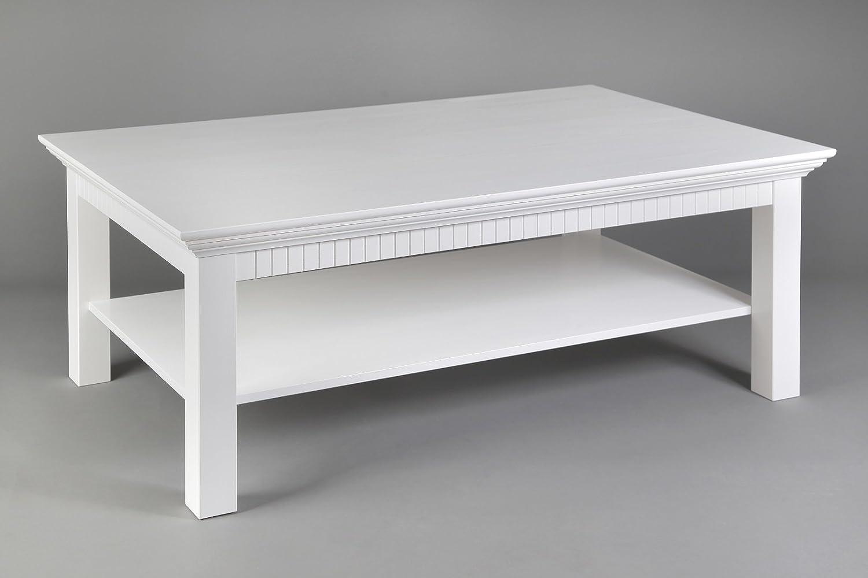 Clever-moebel Clever-moebel Clever-moebel Couchtisch weiß lackiert, Maße  120x76cm 51cbed