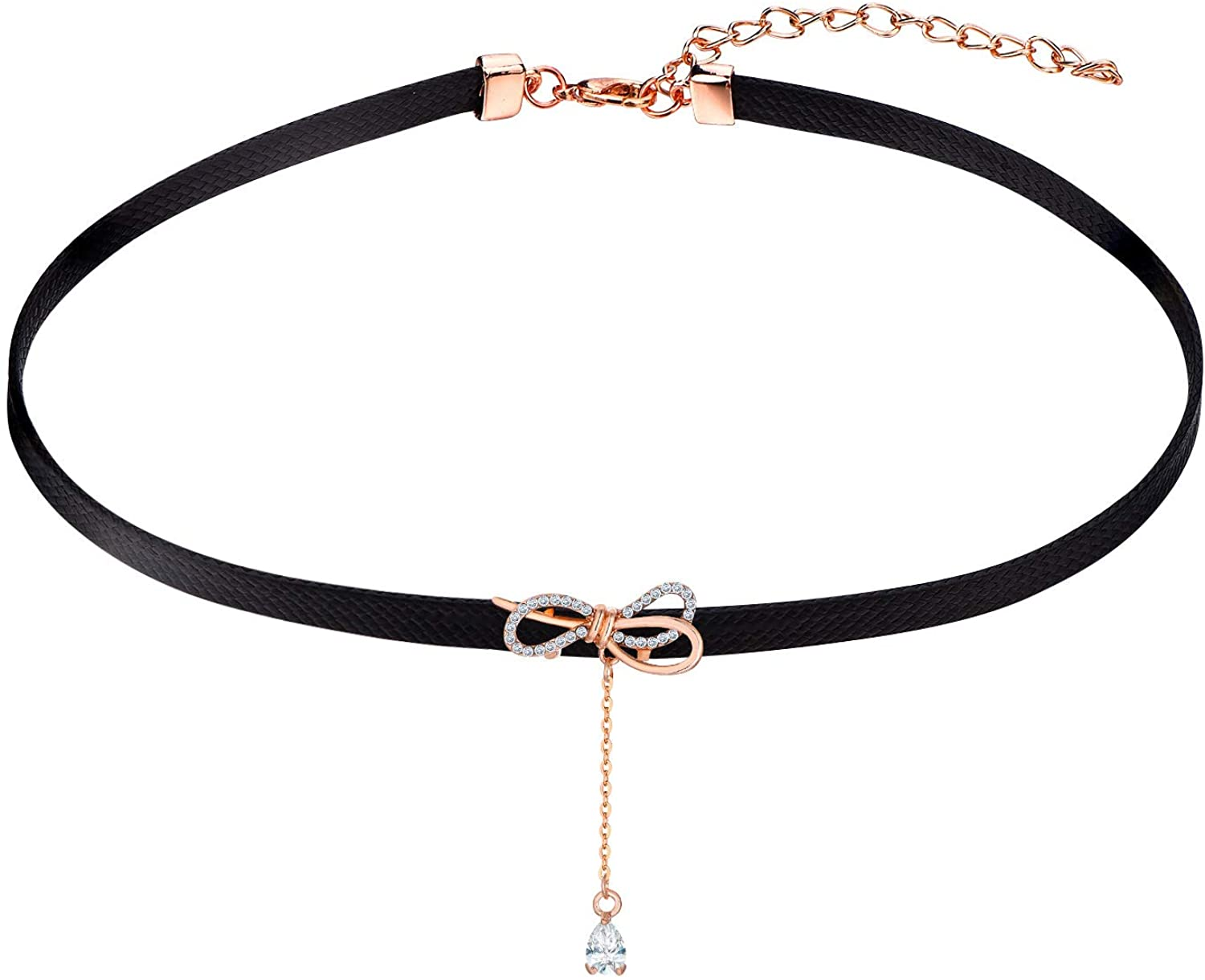Leather Choker Necklace  \