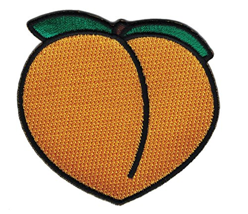 Hook. Booty Savannah Georgia Peach - iPhone emoji Jeans patch by Falkon Tactical