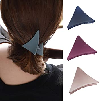 Women Girls Hair Claw Grips Hair Jaw Folding Hair Clips Non Slip Hair Barrettes