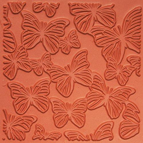 Jewelry Artist Supply Butterflies Texture Mat - 3'' X 3'' by Jewelry Artist Supply