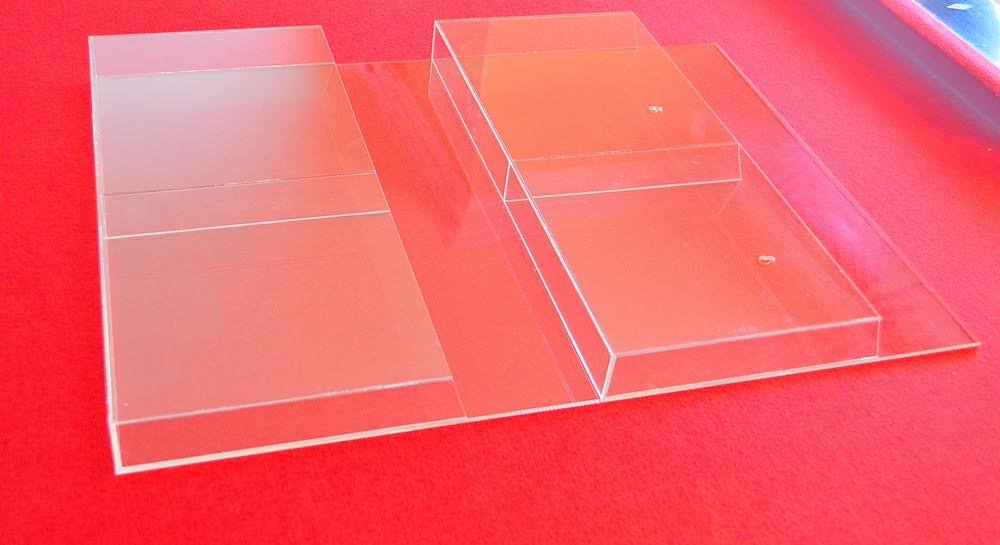 Display Magazine Wall Stand Acrylic Glass DIN A4Transparent SZIPC