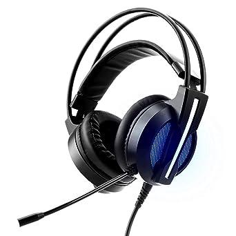 Horsky Auriculares Gaming con micrófonos para PC ordenador portatil Laptop Mac PS4 Xbox Auriculares juegos Estéreo