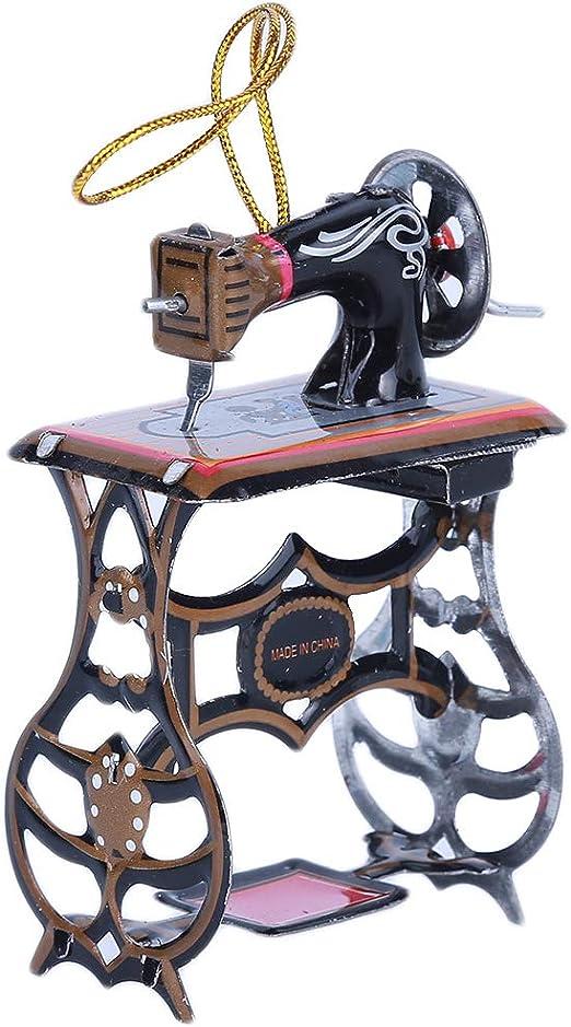 HYhy - Llaveros de Metal para máquina de Coser, Estilo Vintage ...