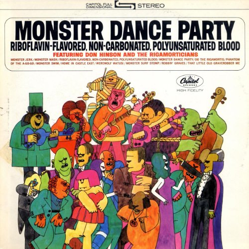 monster dance party by don hinson the rigamorticians on amazon
