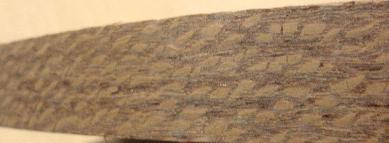 "Lacewood wood veneer edgebanding 7//8/"" x 120/"" inches with preglued adhesive 1//40/"""