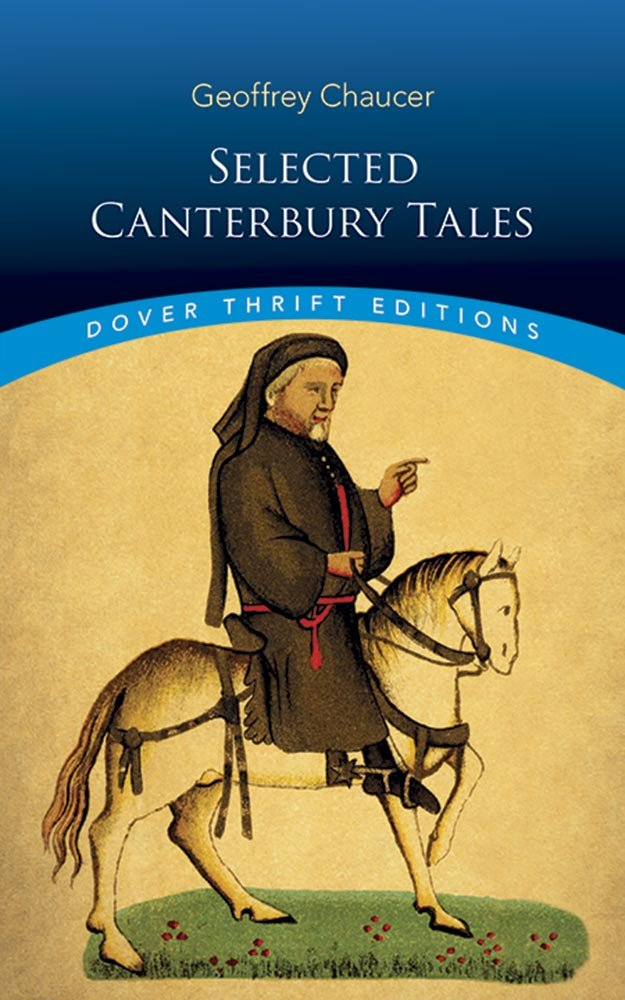Selected Canterbury Tales Geoffrey Chaucer 9780486282411 Amazon