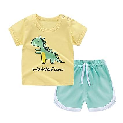 ebd527b9 Amazon.com : Sale Kids Boys Girls Short Sleeve Cartoon Small Fish Print  Tops T-Shirts+Shorts Casual Outfits Sets 2Pcs Children's Set : Office  Products