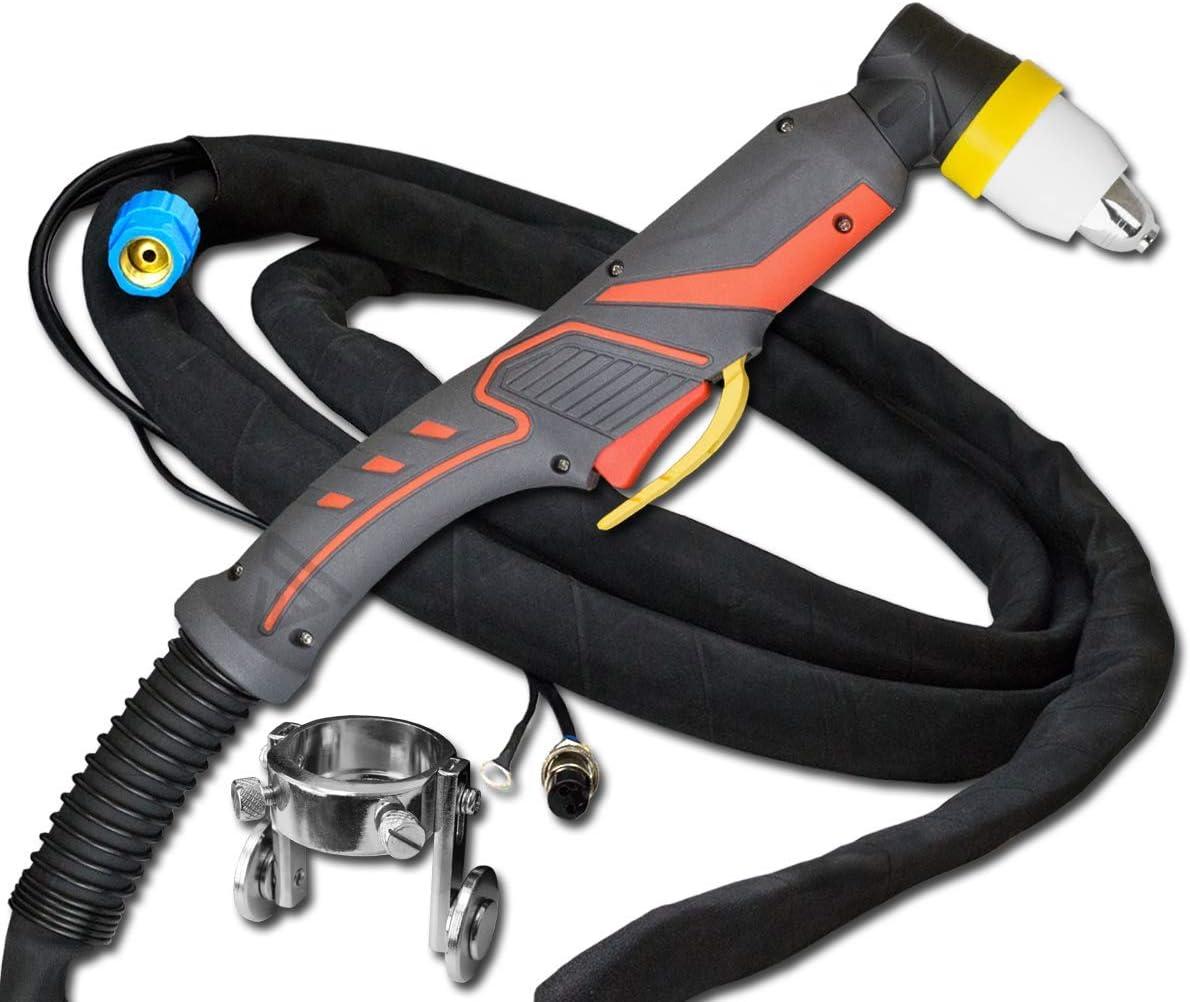 STAHLWERK P80 120A CUT 120//120 S Quemador de tubo de 8 m para cortador de plasma con encendido piloto para dispositivos CUT 70//70 S CUT 100