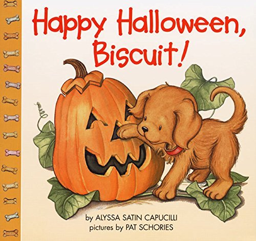 [Happy Halloween, Biscuit] (By: Alyssa Satin Capucilli) [published: August, 1999]]()