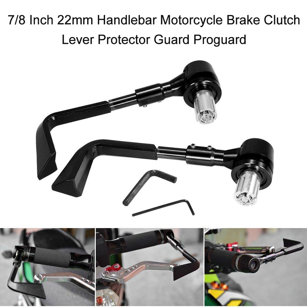 KKmoon Protector Freno Moto 7/8 Inch 22mm Acelerador Freno de Palanca de Embrague Manillar Protector: Amazon.es: Coche y moto