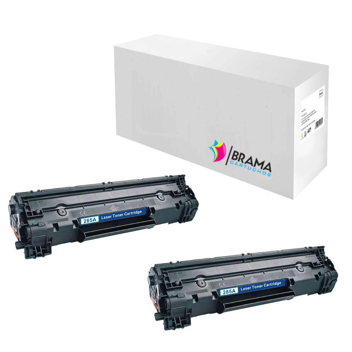 Bramacartuchos - Cartucho Reciclado HP LaserJet CE285A M121nf, M1130, M1132, M1210, M1212, M1212nf, M1213, M1217nfw, M1217, P1100, P1102W, P1102, PRO ...