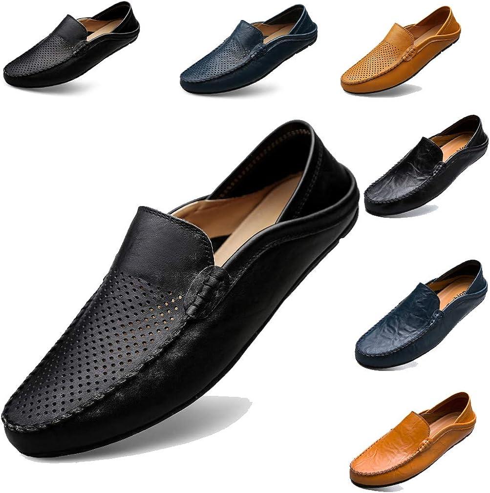 todaysunny Penny Loafers Men Shoes Slip