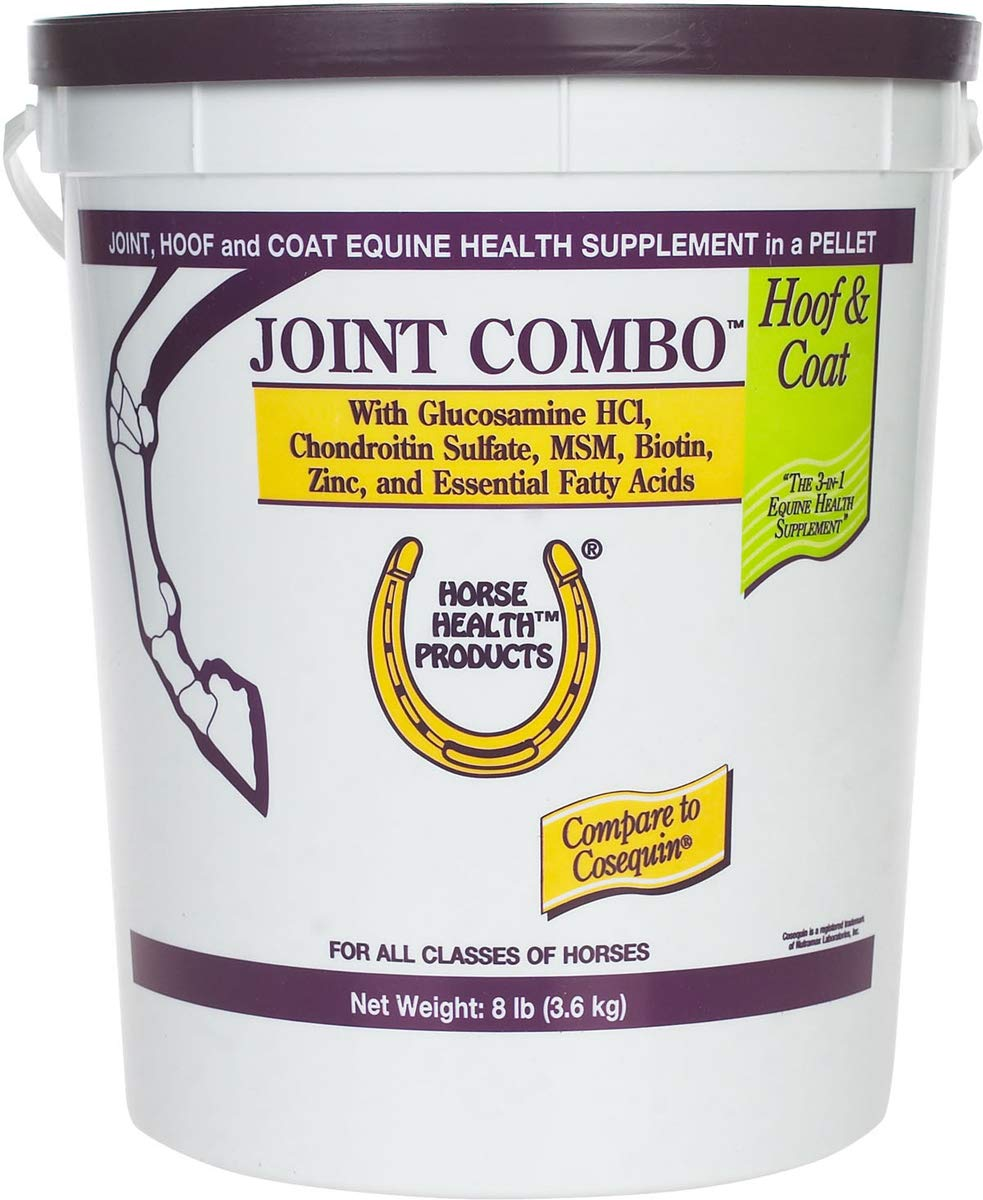 Joint Combo 8 lb Hoof Coat Support Supplement Horse MSM Chondroitin Glucosamine by Joint Hoof & Cat