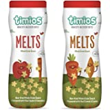 Timios Mix Flavours Melts | Healthy Snack for Kids | Natural Baby Food | Energy Food Product for Toddlers | Nutritious and Ready to Eat for Children 9+ Months Pack of 2