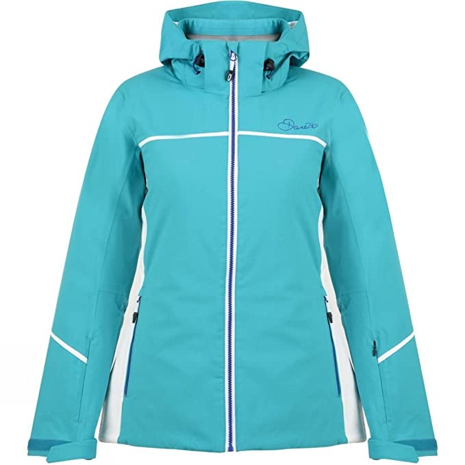 Amazon.com: Dare2b Effectuate Womens Skiing Jacket - Blue ...