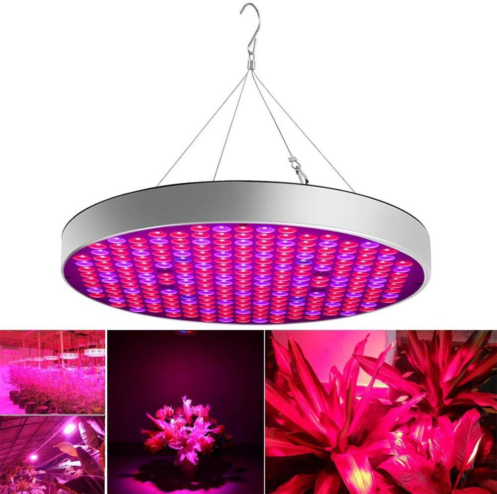 TYQIAO Planta del LED Crece la Planta 50W Panel de luz de la lámpara Creciente Full Spectrum Crecer Luces para Plantas de Interior, Semilla de Partida, la Planta de semillero, Verduras, Flores