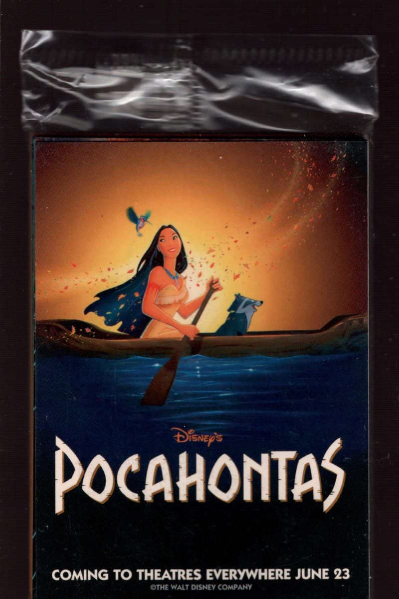 Pocahontas 1995 Skybox Movie Promo 10 Card Set New Sealed Pack Disney At Amazon S Entertainment Collectibles Store