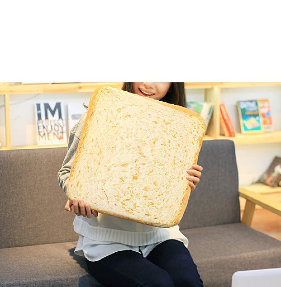 Creative Toasted 3D Bread Pillow Plush Soft Toy Bread Cushion Gift Bakery Shop Decors Sofa Seat Cushion