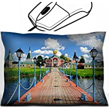 MSD Mouse Wrist Rest Office Decor Wrist Supporter Pillow design: 35059303 Gateway Church of St Philip Iversky monastery in Valdai Russia