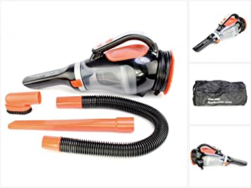 Black & Decker Adv 1220 XK Auto – Aspiradora de mano con conexión de 12 V y accesorios: Amazon.es: Bricolaje y herramientas