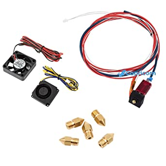 Extruder Kit For Creality Ender 3//Ender 3 Pro Nozzle Tubing Supplies Accessories