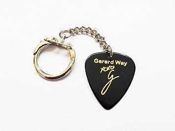 Gerard Way MCR firma sello llavero de púas de púa de ...
