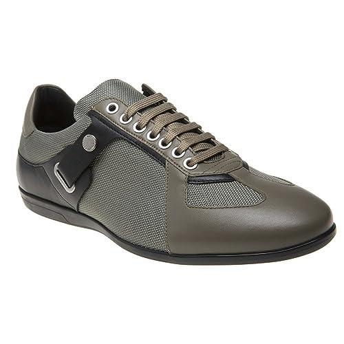 Versace Collection Logo Formal Hombre Zapatillas Verde: Amazon.es: Zapatos y complementos